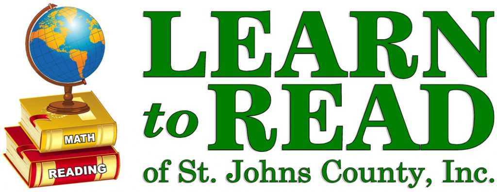 Learn to Read of St. Johns County logo